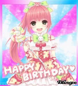 Anime Girl Happy Birthday Picture #130958457   Blingee.com