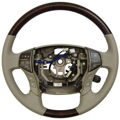 toyota steering wheel 2011 2012 toyota avalon steering wheel grey leather w
