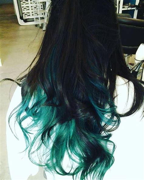 top  green ombre hair colors hair colors ideas