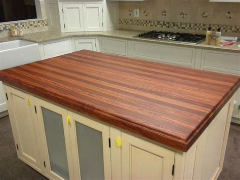 used countertops for made santos mahogany counter top by chesapeake