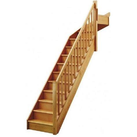 Escalier Quart Tournant Haut Escalier Soft Quart Tournant Haut Droit H274 Re Classic Structure Marche Bois Leroy Merlin