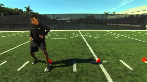 cone drills footwork agility acceleration series