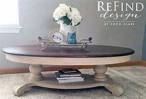 Custom Gel Stained Coffee Table General Finishes Design