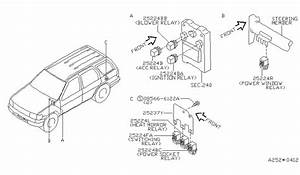 Nissan Pathfinder Power Window Wiring Diagram