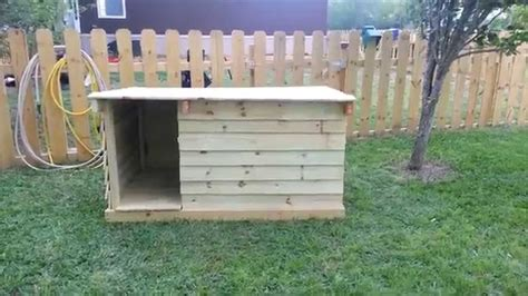 build  dog house   fence pickets youtube