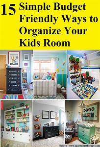 15 Simple Budget Friendly Ways to Organize Your Kids Room ...