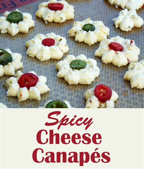 freeze ahead canapes recipes spicy cheese canapés t makes three