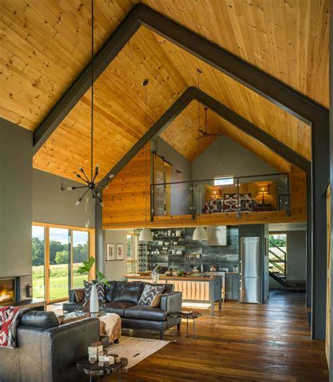 small  cozy modern barn house getaway  vermont