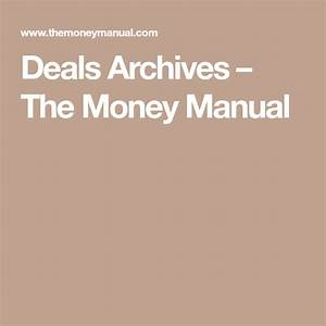 Deals Archives  U2013 The Money Manual