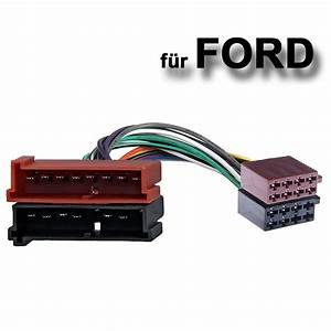 Auto Radio Adapter Kabel Ford Din Iso Escort Fiesta Focus