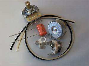Custom Spec Wiring Kit For P Bass Cts Pots  1uf Sprague