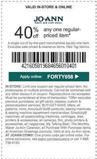joanns printable coupon joann fabrics printable coupons may 2018 free 22627 | joann%2Bcoupons
