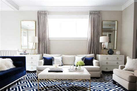 Navy Living Room by Navy Living Room Accents Transitional Living Room
