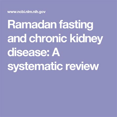 kidney disease failure fasting dialysis symptoms liver diet low chronic