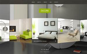50 interior design furniture website templates 2018 for Interior decor website template