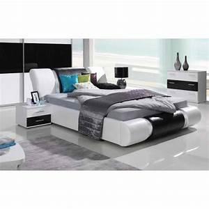 Ensemble meubles design pour chambre a coucher texas blanc for Meuble disign chambre