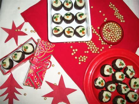 yummy tummy christmas bon bons rich chocolate balls