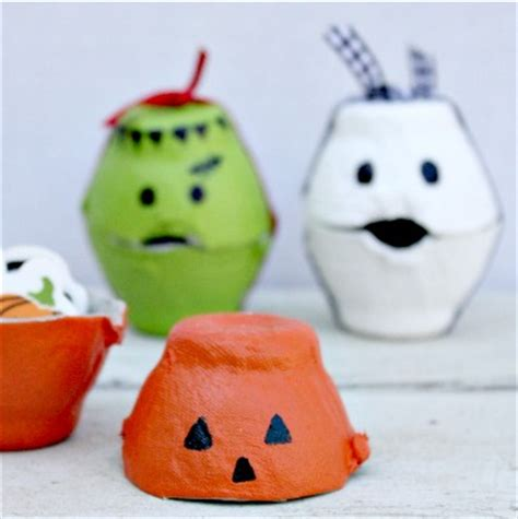 Egg Carton Halloween Treat Box — Totally Green Crafts