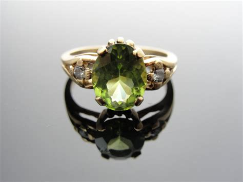 Peridot Engagement Ring Vintage Sweeten Creek Antiques Asheville North Carolina Antique Truck Parts Dodge Pasadena Convention Center Show White King Bed With Storage Rugs Houston Tx Small Coffee Table Vanity Set Silver