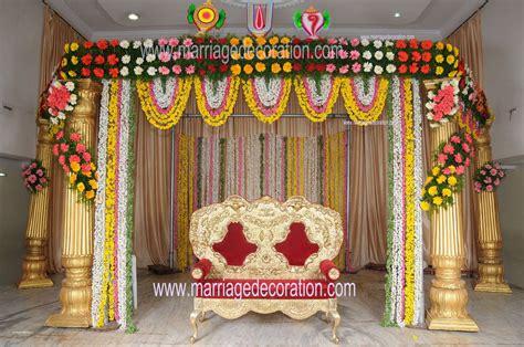 simple wedding stage decoration  flowers luxury flower