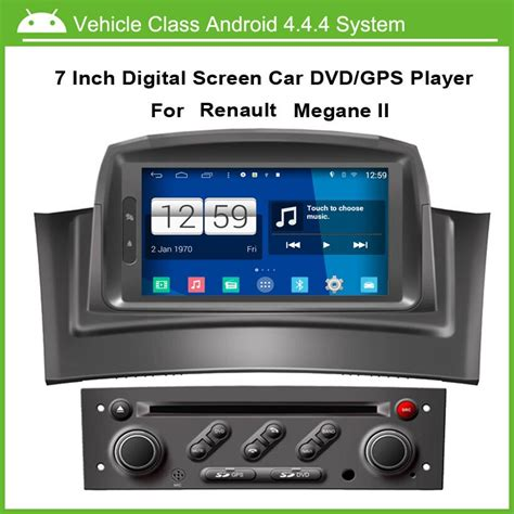 android car dvd video player for renault megane 2 fluence 2002 2008 with gps navgation speed 3g