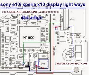 Sony Xperia X10 Mini E10i Display Light Jumper Solution