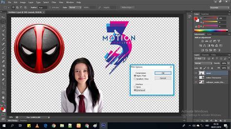 membuat background transparan  photoshop youtube