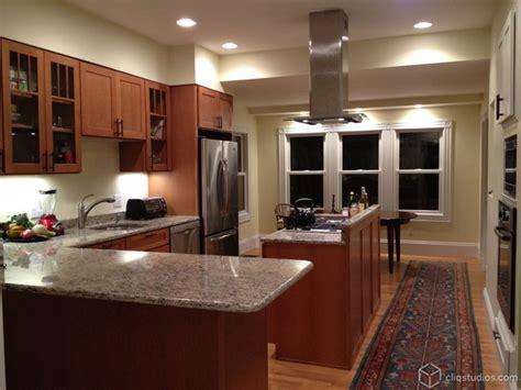 contemporary oak kitchen  island traditional kitchen minneapolis  cliqstudios cabinets