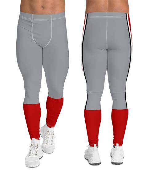 Ohio State Buckeyes Football Uniform Leggings for Men ...