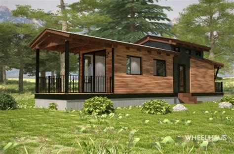 wheelhaus tiny houses modular prefab homes  cabins