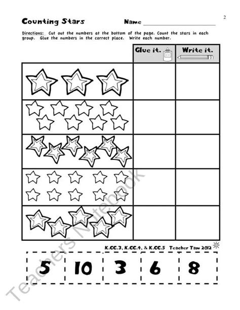 common math worksheets preschool common best free