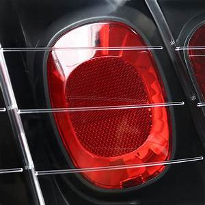 99-04 Ford Mustang Euro Style Altezza Tail Lights - Black