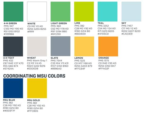 montana state colors 4 h brand resources montana 4h montana state