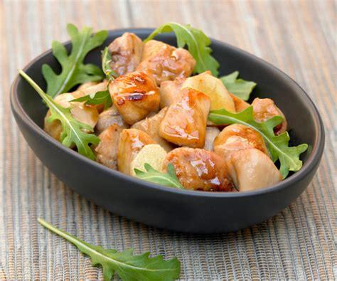 recette de cuisine de cyril lignac astuce de cyril lignac wok de poulet au miel