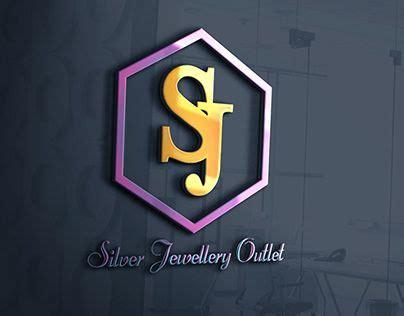 check   work   atbehance portfolio sj jewelry logosjlogo calligraphic classic