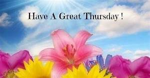 BlessOurHearts: Have a great Thursday