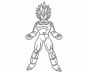 Dragon Ball Z Vegeta Coloring Pages - Coloring Pages Ideas