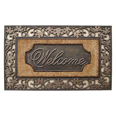 Outdoor Welcome Door Mats by Impression Large Welcome Outdoor Brush Door Mat