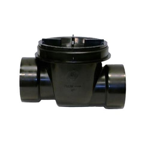 4 in abs backwater valve 475 the home depot