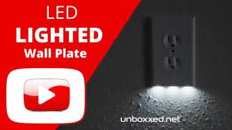 illuminate led lighted outlet wall plate