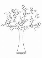 Tree Coloring Pages Cherry Banyan Baobab Colouring Roots Trees Drawing Printable Getcolorings Getdrawings Banya sketch template