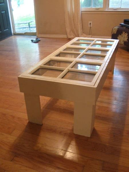 Coffee Table From Old Windows Make