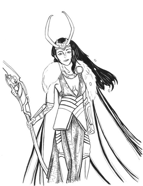 Female Loki Art On Loki Hiddleston Deviantart