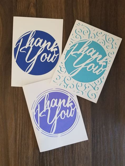 › free online printable greeting cards no sign up no download. Printable Cricut Template Detailed Elegant Thank you card SVG | Etsy | Cricut birthday cards ...