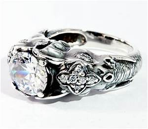 sterling silver elephant ring for men With elephant wedding ring