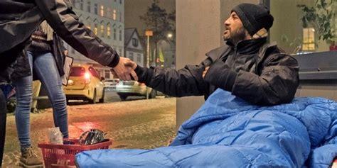 kaelteeinbruch wie man obdachlosen helfen kann