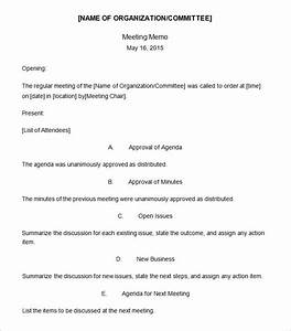 meeting memo template 18 free word pdf documents With staff meeting memo template