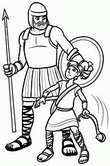 David Goliath Coloring Pages Testament Bible Quiet Books Printable Clipart Children Purpose Story Sheets Library Characters Easy Clip Cliparts Pinning sketch template