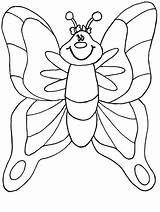 Coloring Butterflies Pages Butterfly Sheet Children sketch template