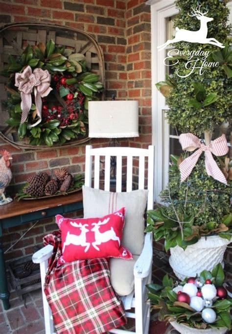 top  front porch christmas decor ideas easy backyard